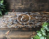 Wood Wedding Guest Book / Alternative Guest Book / Wood Wedding Sign / Rustic Wedding Guest Book / Custom Guest Book / Personalized Book