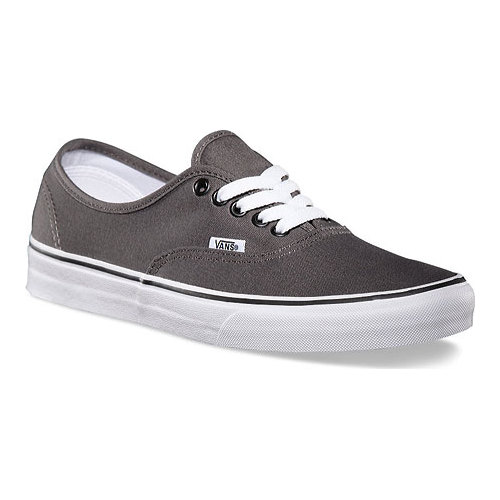 Vans Authentic Sneaker, Size: 3.5 M, Pewter/Black