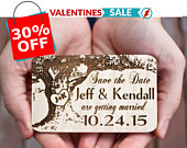 Wood Save The Date Magnets, Tree Save the date, Wedding SaveTheDateMagnet, Tree Trunk Save the date, Backyard Wedding, Laser Engraved