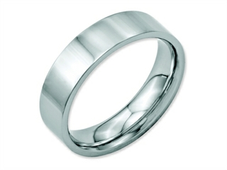 Chisel Stainless Steel Flat 6mm Polished Weeding Band