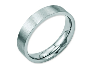 Chisel Stainless Steel Flat 5mm Brushed Weeding Band