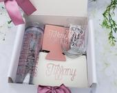 Personalized Bridesmaid proposal box, Personalized gift box, large gift box, will you be my bridesmaid, Custom name box