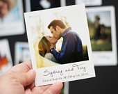 Custom Photo Magnets 3.5 x 4.25 Size Save the Date Wedding Announcement Your Photos