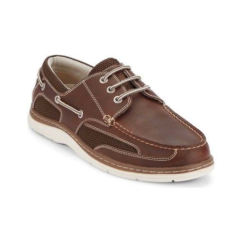Men's Dockers Lakeport Boat Shoe, Size: 9.5 W, Red Brown Leather