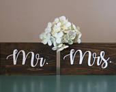 Wedding Mr and Mrs Sign, wood mr and mrs sign, wooden mr and mrs sign, rustic mr and mrs sign, Mr and Mrs Sign, wedding Sign, Mr and Mrs