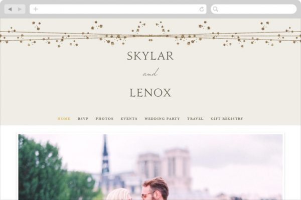 Tiara Wedding Websites