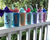 Stainless MINI Tumbler, Personalized Tumbler, Personalized Gifts, Bridesmaid Proposal, Kids Water Bottle,Bridesmaid Gift, Wedding Favors