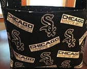 Ready to Ship Chicago White Sox Easter Basket, White Sox, Baseball Basket, Boys Room Basket, Chicago Gift, Mothers Day, Sox, Baseball
