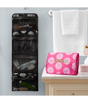 Personalized Hang It Up Cosmetic Bag