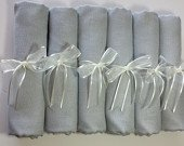 6 SET SILVER GRAY ( light gray) Pashminas Shawl. 6 light gray Shawl. Bridesmaid gifts. Bridesmaid shawls. Pashmina Scarf. Wedding favor.