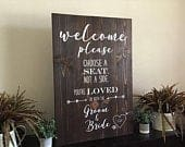 Wedding Ceremony SignRustic Wedding SignChoose A Seat Not A Side,Wedding welcome sign wood ,wedding sign wood,Welcome Wedding Signs,