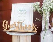 Guestbook Sign Wedding Guest Book Sign Wood Guestbook Sign Freestanding Guestbook Sign