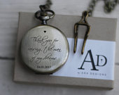 Laser Engraved Personalized Pocket Watch, Gold Finish, Father of Bride Gift, Metal, Gift for Men, For Dad, LGC10437