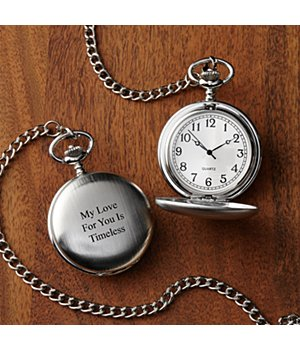 Personalized Timeless Treasures Pocket Watch