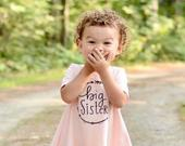 Big Sister Shirt Big Sister Dress pregnancy announcement shirt big sis, big sister reveal, big sister announcement, baby announcement