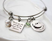 personalized mother of the bride gift, mother of the bride gift from daughter, mother of the bride gift, mother of the bride bracelet set