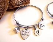 Mother of the Bride, Mother of the Groom, Wedding Jewelry Bracelet, MOG or MIL Gift, Gift for Mother of the Bride or Mother of the Groom