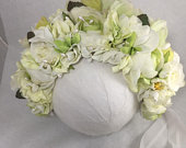 Flower crown, Headband, tiara, Halo perfect for Photography prop for weddings, maternity, showers and special occasions.