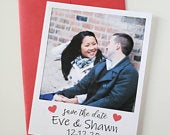 Polaroid Photo Save the Date Pack of 10 4.25x5.5