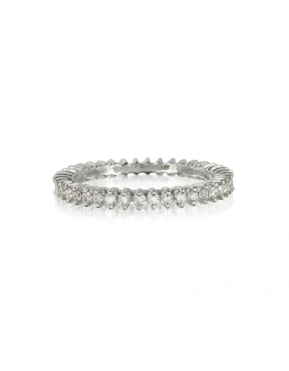 Forzieri Rings White Gold and Diamonds Eternity Band Ring