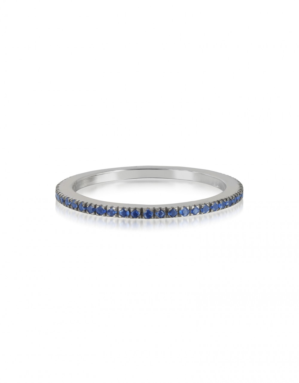 Forzieri Rings Natural Blue Sapphire Eternity Band Ring