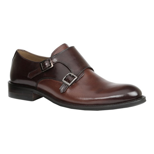 Men's Giorgio Brutini Rampart Monkstrap, Size: 11 M, Tan/Brown Tauras Smooth Leather