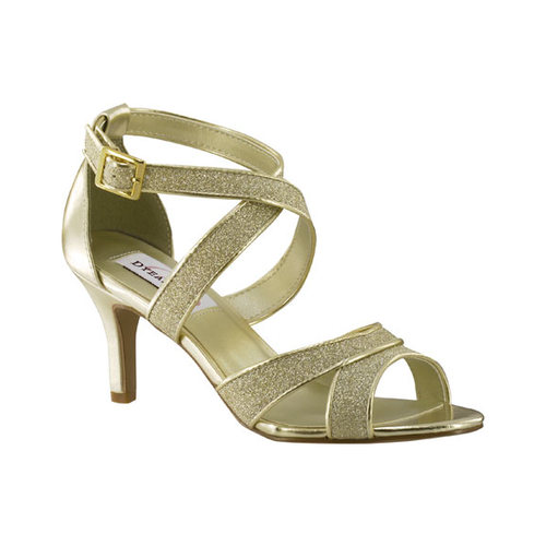 Women's Dyeables Amber Strappy Sandal, Size: 9.5 M, Gray