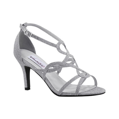 Women's Dyeables Madison Strappy Sandal, Size: 10 M, Gray