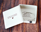 Mother of the Groom Gift Square Keepsake Box with Personalized Bracelet Thank You For Raising the Man of My Dreams