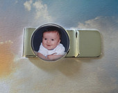 Custom Photo Money Clip Personalized for Dad or Wedding Mens Keepsake Fathers Day Gift
