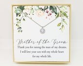 Mother of The Groom Gift Mother of the Groom Necklace Mother In Law Necklace Mother In Law Gift Mother of the Groom Gift From Bride