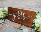 Gifts Rustic Wood Wedding Sign, Wedding Gifts Wood Sign, Wedding Gifts Table Wood Sign, Wedding Gifts Decor Sign