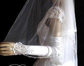 cathedral wedding veil, cathedral veil with blusher, crystal pearl edge wedding veil, crystal cathedral veil, 2 tier cathedral veil
