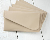 Set of simple nude bridesmaid clutches simple nude purse dusty blush clutch