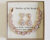 Custom Engraved Mother of the groom set, Mother of the bride set, Bridal jewelry set, Mothers gift, Mother in law, Mom gift set
