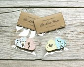 Personalized Wildflower Seed Bomb Favors, Plantable Biodegradable Hearts, Custom Color Plantable Paper Favors
