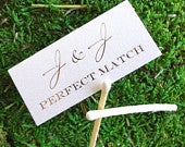 80 Personalized Perfect Match Match Boxes, Custom Wedding Favor, Personalized Wedding Matches, Printed Party Favor Matches