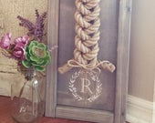 Cord of Three Strands Ceremony Braid Sign (more color options available)