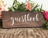 Please Sign Our Guestbook Sign Wedding Guestbook Sign Wood Guest Book Please Sign Our Guestbook Wooden Wedding Signs WS177