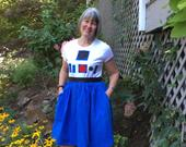 R2D2inspired TShirt Dress for Womensizes S, M, L, XL, and XXL