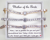 Mother of the Bride gift Mother of the Groom gift Mother in Law Gift wedding gift step mother of the groom,stepmom wedding gift bracelet