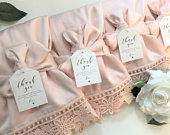 SET OF 5 Bridesmaid Robe, Lace Robe, Blush Robe, Woman Robe, Robe for Woman,Wedding Robe, Bridal Party Robe, Wedding Favors, Bridesmaid Gift
