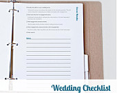 Printable 12 Month Wedding Checklist Printable Wedding Planner