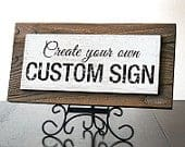 Custom Sign . Rustic Reclaimed Wood Signs. Custom Quote Sign. Business Sign. Office Decor. Office Sign. Personalized Sign. 14x7