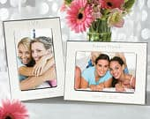 Engraved Silver Plated Photo Frame Personalize Picture Frame 4x6, 5x7, or 8x10 frame Affordable Bridesmaid Gift Personalized Gifts