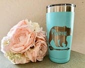 Mama Bear Tumbler, Mother Day, Mom Gift, Mama, Mama Bear, Custom Mug, New Mommy, Best mom, Coffee mug, Mother of the bride groom, Step Mum