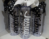 Personalized Tumbler, Personalized Tumblers, Wedding Tumbler, Bridesmaid Tumbler, Bridesmaid Gift, Team Bride