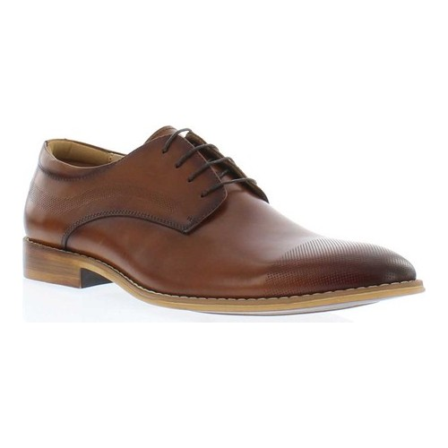 Men's Giorgio Brutini Tappen Lace Up Oxford, Size: 9.5 M, Cognac Leather