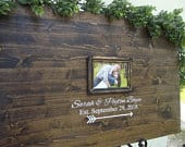 Alternative guest book With Picture, alternative wedding guest book, wedding guest book alternative wood, wooden wedding guest book sign