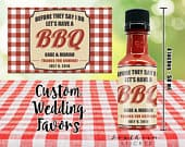 I Do BBQ Custom Barbecue Sauce Wedding Favors Personalized Labels Empty 50 mL Bottles Sticker DIY Kit Engagement Party Couples Shower